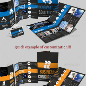 Brochure Pack A4+Trifold Leaflet+Business Card