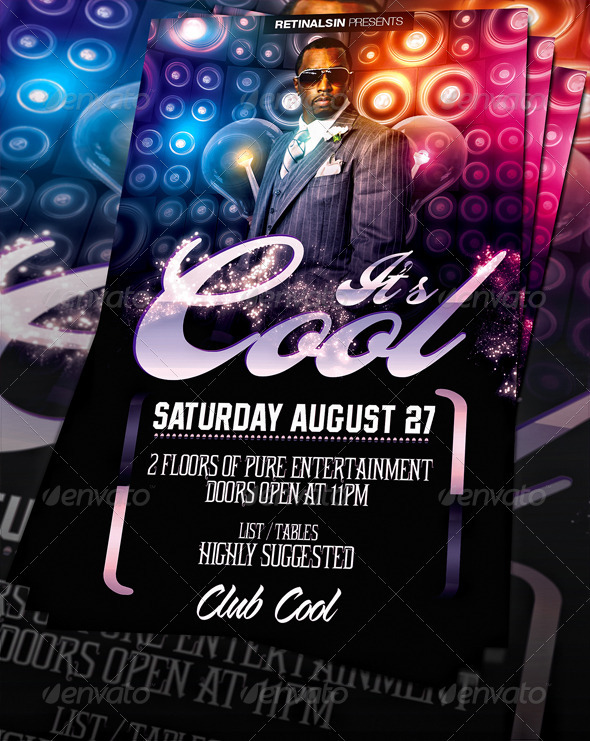 Cool Flyer Template Print Ad Templates