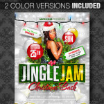 Jingle Jam Christmas Party Flyer Image Preview