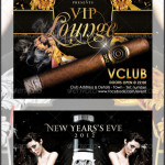 VIP Lounge New Year's Eve Flyer