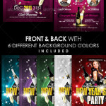 New Years Eve Party Flyer Image Preview