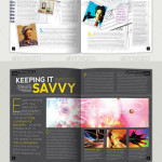 Magazine Template - InDesign 56 Page Layout