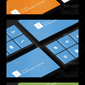 Metro Business Cards 3 in 1