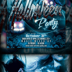 Halloween Party Flyer Template
