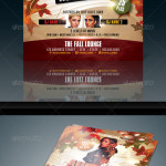 Autumn Party Flyer Image Preview