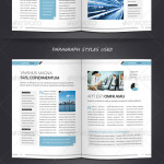 Corporate & Business BROCHURE TEMPLATE A4 & Letter