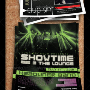 Flyer Set – Concert or Club Template
