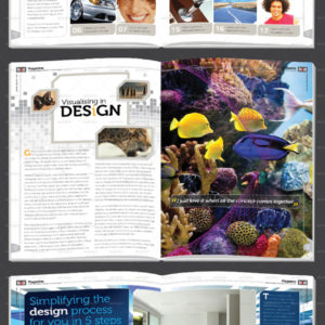 36 Page Magazine / Newsletter Template