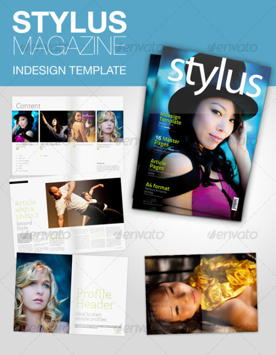 Stylus Indesign Magazine