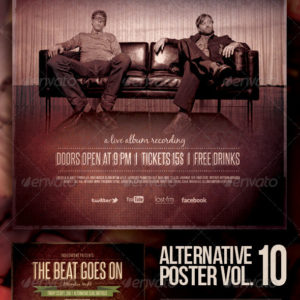 Alternative Flyer/Poster Vol. 10
