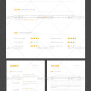 Clean & Elegant – Resume Template