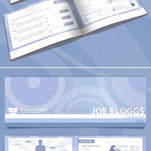 Infographic Resume Booklet