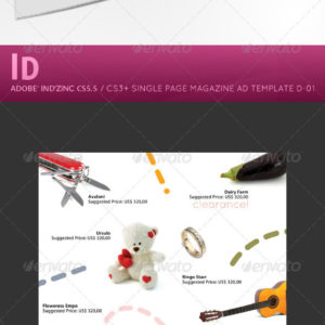 InDesign Magazine Ad D01