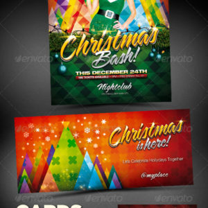 Christmas Bash Party Flyer Pack