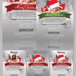 Christmas Party Flyer preview