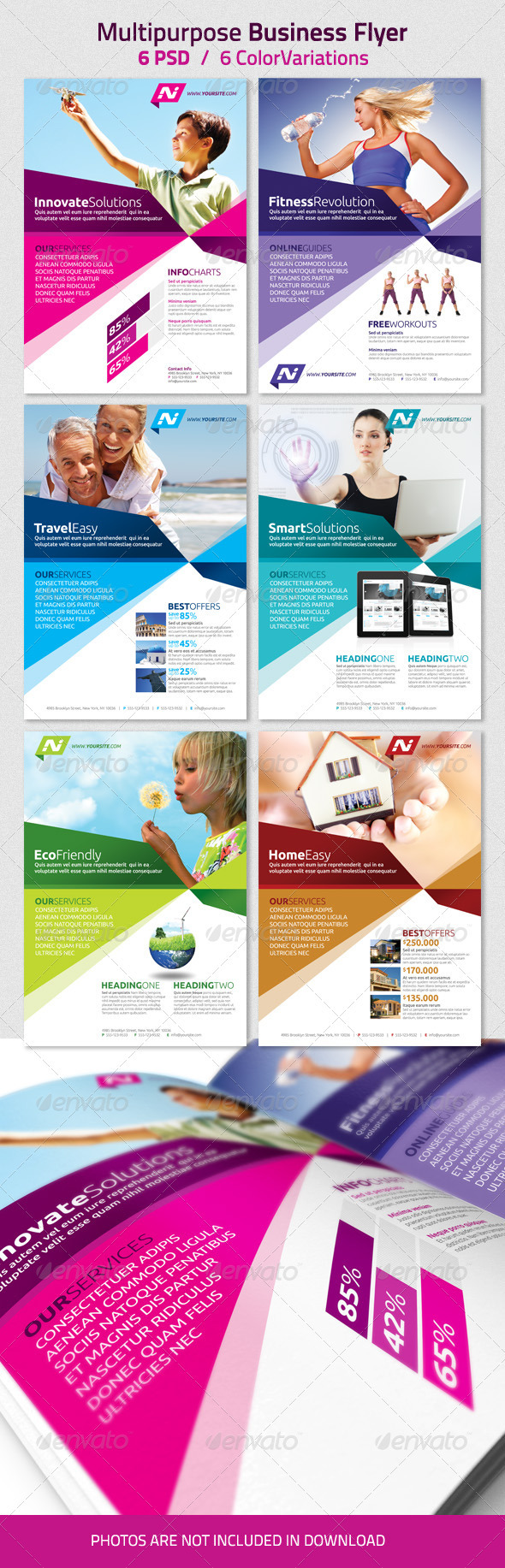 printing company flyer template .