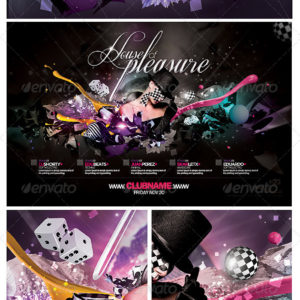 House Of Pleasure Flyer Template