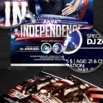 Independence Flyer Template