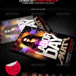 Labor Day Party Flyer Template