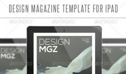 Design Tablet Magazine Template