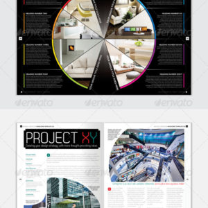 Magazine Template – InDesign 56 Page Layout V2