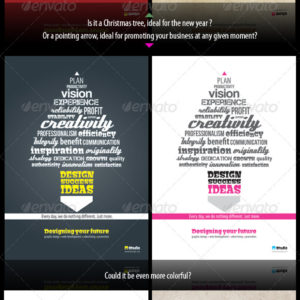 Typography Template – Christmas and New Years