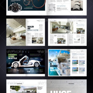 Multipurpose 40 page Magazine – A4 + Letter