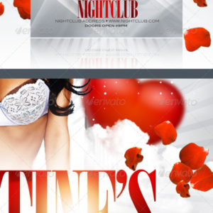 Valentine Affair Party Template