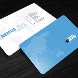 Freebie – Business Card Template – reZEAL