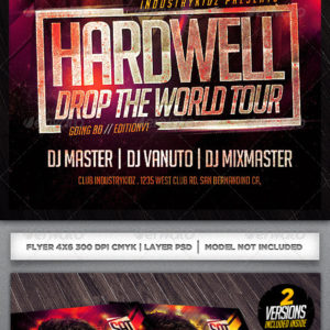 Electro Dj Flyer Template