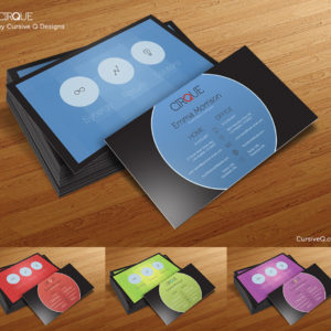 Cirque – Free Business Card Template
