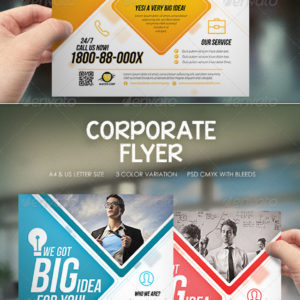 Modern Corporate Flyer / Magazine Ads