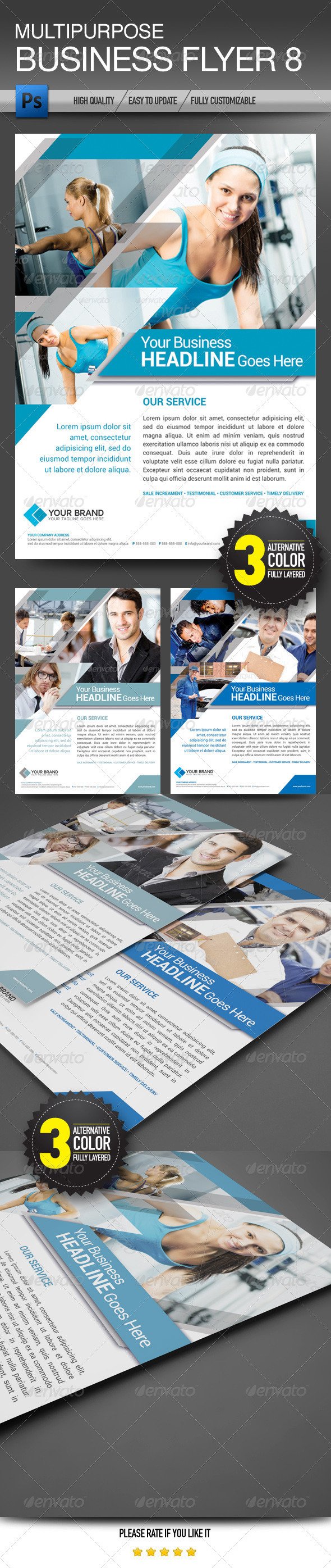 Multipurpose Business Flyer 8