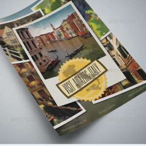 Travel Print Ad / Flyer 2 Pack