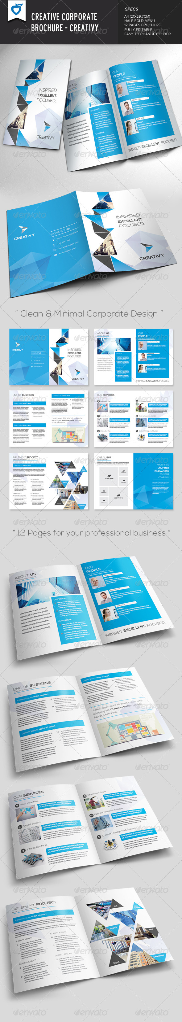 Creative Corporate Brochure – Creativy
