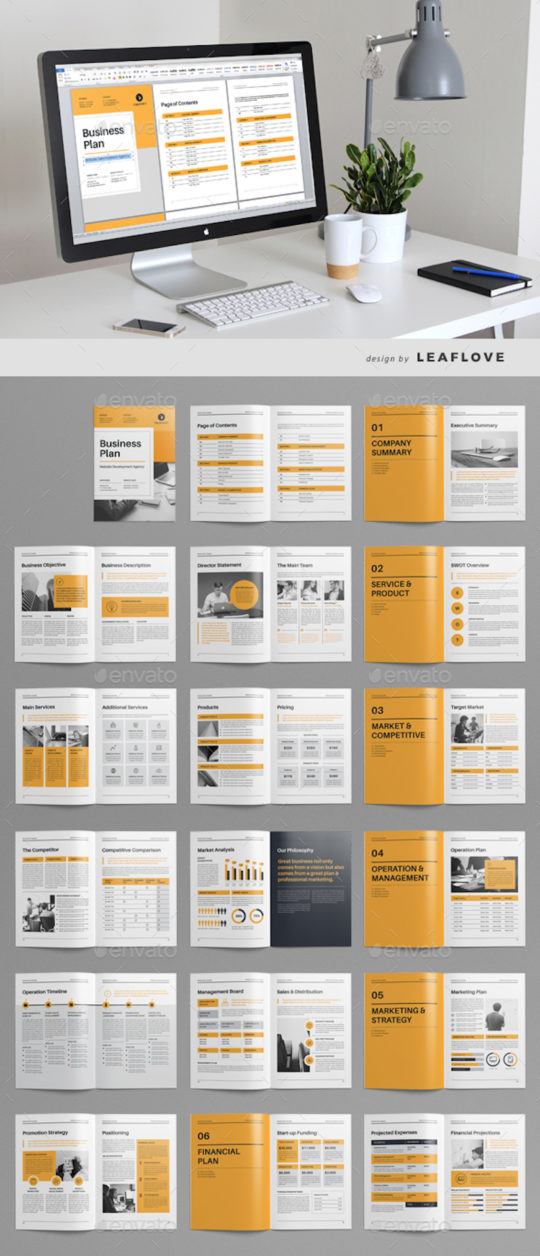Multipurpose Business Plan Template